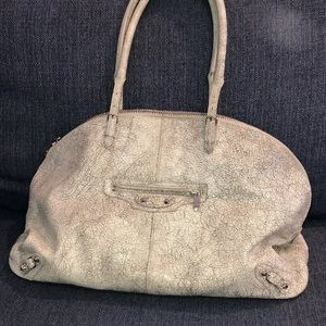 Agneau grey marbled balenciaga